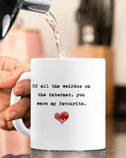 OF ALL THE WEIRDOS ON THE INTERNET Mug ceramic-mug-lifestyle-65