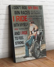 I RIDE TO FEEL STRONG  20x30 Gallery Wrapped Canvas Prints aos-canvas-pgw-20x30-lifestyle-front-14