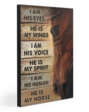 HE IS MY HORSE 20x30 Gallery Wrapped Canvas Prints front