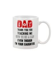 TEACHING ME HOW TO BE A MAN - MECHANIC Mug front