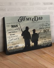 TO MY DAD - HUNTING - MB307 30x20 Gallery Wrapped Canvas Prints aos-canvas-pgw-30x20-lifestyle-front-07