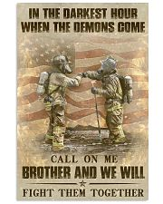 WE WILL FIGHT THEM TOGETHER  Vertical Poster tile
