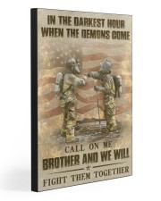 WE WILL FIGHT THEM TOGETHER  20x30 Gallery Wrapped Canvas Prints front