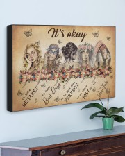 IT'S OKAY 30x20 Gallery Wrapped Canvas Prints aos-canvas-pgw-30x20-lifestyle-front-01