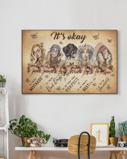 IT'S OKAY 30x20 Gallery Wrapped Canvas Prints aos-canvas-pgw-30x20-lifestyle-front-03