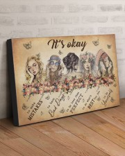 IT'S OKAY 30x20 Gallery Wrapped Canvas Prints aos-canvas-pgw-30x20-lifestyle-front-07
