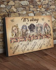 IT'S OKAY 30x20 Gallery Wrapped Canvas Prints aos-canvas-pgw-30x20-lifestyle-front-21