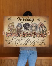IT'S OKAY 30x20 Gallery Wrapped Canvas Prints aos-canvas-pgw-30x20-lifestyle-front-22