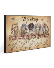 IT'S OKAY 30x20 Gallery Wrapped Canvas Prints front