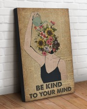 Be kind to your mind 20x30 Gallery Wrapped Canvas Prints aos-canvas-pgw-20x30-lifestyle-front-14
