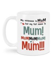 MY NICKNAME IS MUM  Mug back