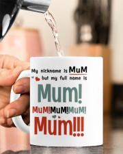 MY NICKNAME IS MUM  Mug ceramic-mug-lifestyle-65