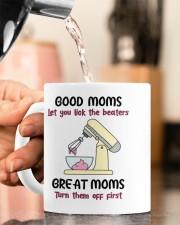 GOOD MOMS LET YOU LICK THE BEATERS  Mug ceramic-mug-lifestyle-65