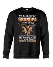 I'm A Veteran Grandpa - MB49 Crewneck Sweatshirt thumbnail