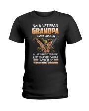I'm A Veteran Grandpa - MB49 Ladies T-Shirt thumbnail