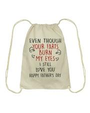 YOUR FARTS BURN MY EYES - MB130 Drawstring Bag thumbnail