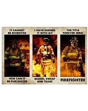 FIREFIGHTER - THE TITLE FOREVER MINE Horizontal Poster tile