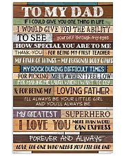 TO MY DAD - MB275 24x36 Poster front
