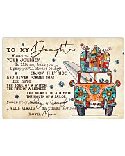 TO MY DAUGHTER  Horizontal Poster tile