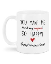 YOU MAKE ME SO HAPPY Mug back