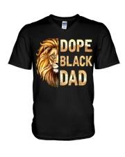DOPE BLACK DAD - MB254 V-Neck T-Shirt thumbnail