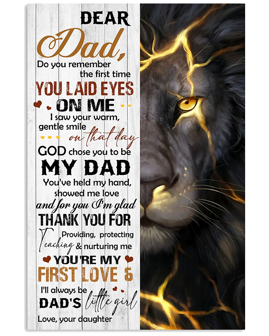 TO MY DAD - MB142 11x17 Poster