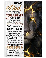 TO MY DAD - MB142 11x17 Poster front