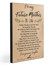 TO MY FUTURE MOTHER IN LAW  20x30 Gallery Wrapped Canvas Prints front