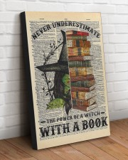 A WITCH WITH A BOOK 20x30 Gallery Wrapped Canvas Prints aos-canvas-pgw-20x30-lifestyle-front-14