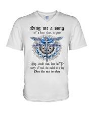 Sing me a song  V-Neck T-Shirt thumbnail