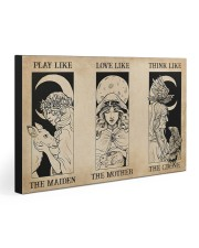 Triple Goddess 30x20 Gallery Wrapped Canvas Prints front