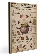 KITCHEN WITCHERY 20x30 Gallery Wrapped Canvas Prints front