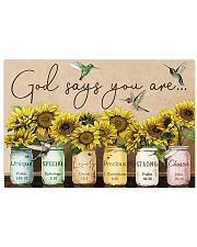 GOD SAYS YOU ARE - MB105 24x16 Poster front