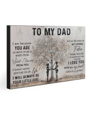 TO MY DAD  30x20 Gallery Wrapped Canvas Prints front