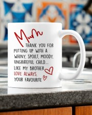 A UNGRATEFUL CHILD LIKE MY BROTHER Mug ceramic-mug-lifestyle-57