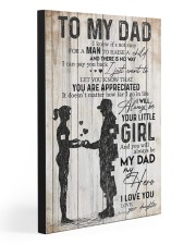 TO MY DAD - 71T11 20x30 Gallery Wrapped Canvas Prints front