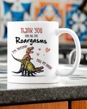 THANK YOU FOR ALL THE ROARGASMS Mug ceramic-mug-lifestyle-57