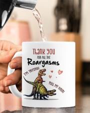 THANK YOU FOR ALL THE ROARGASMS Mug ceramic-mug-lifestyle-65