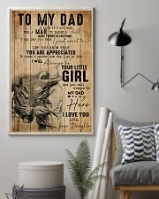 TO MY DAD - MB305 16x24 Poster lifestyle-poster-1