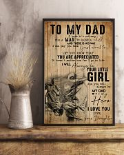 TO MY DAD - MB305 16x24 Poster lifestyle-poster-3