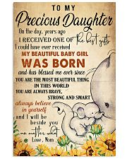 To my precious daughter Vertical Poster tile