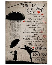 TO MY DAD - MB162 11x17 Poster front