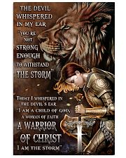 A WARRIOR OF CHRIST 24x36 Poster front