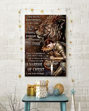 A WARRIOR OF CHRIST 24x36 Poster lifestyle-holiday-poster-3