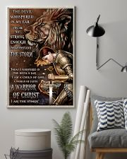 A WARRIOR OF CHRIST 24x36 Poster lifestyle-poster-1