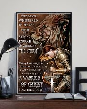 A WARRIOR OF CHRIST 24x36 Poster lifestyle-poster-2