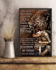 A WARRIOR OF CHRIST 24x36 Poster lifestyle-poster-3