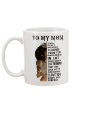 TO MY MOM  Mug back