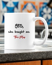 EXCEPT I GOTTA ASK MY WIFE  Mug ceramic-mug-lifestyle-57