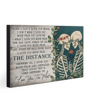 I LOVE YOU THE MOST 30x20 Gallery Wrapped Canvas Prints front